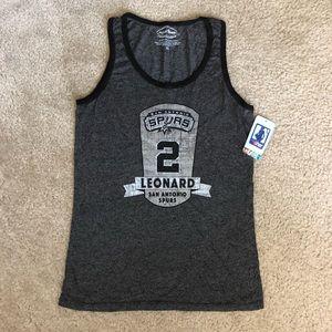 Women's San Antonio Spurs Leonard #2 Tank XL NWT
